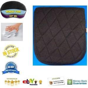 Passenger rear pillion seat gel pad for harley V road