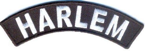 Harlem City Patch Rocker Embroidered Motorcycle Biker Vest Patches SR768