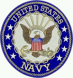 US Navy PATCH Navy seal Logo Large Back Patch FOR BIKER MOTORCYCLE JACKET VEST