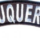 Albuquerque City Rocker Patch Sml Embroidered Motorcycle Biker Vest Patch SR755