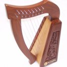 Children's tarter Harp 8 strings for Children with Bag Tuning key extra strings