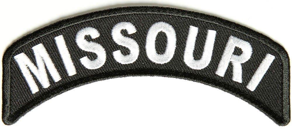 Missouri State Rocker Patch Sml Embroidered Motorcycle Biker Vest Patch SR728