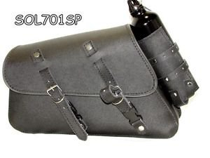 Thick Leather Motorcycle SwingArm Solo Bag for Harley Davidson Sportster 701SP