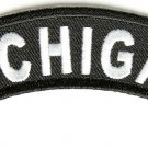 Michigan State Rocker Patch Sml Embroidered Motorcycle Biker Vest Patch SR725