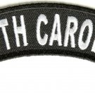 South Carolina State Rocker Patch Sml Embroidered Motorcycle Biker Vest Patches