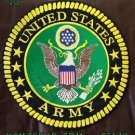 """UNITED STATES ARMY for Bikers Motorcycles Vests Jackets Veteran Back Patches 10"""""""