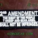 2nd Amendment the Right of the People Small Badge for Biker Vest Jacket Patch