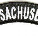 MassachusettsState Rocker Patch Sml Embroidered Motorcycle Biker Vest Patch