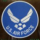 "U.S. AIR Force for Biker Motorcycle Vest Jacket Military Back Rocker Patches 10"""
