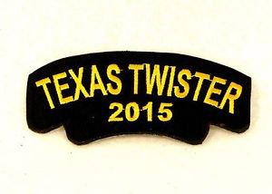 Texas twister 2015 Small Badge Biker Vest Jacket Patch SB816