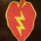 25TH INFANTRY TROPIC LIGHTNIN Small Badge for Biker Vest Jacket Motorcycle Patch