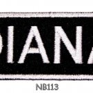 DIANA Name Tag Patch Iron or sew on for Shirt Jacket Vest New BIKER Patches