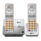 AT&T EL51203 DECT 6.0 Phone with Caller ID/Call Waiting, 2 Cordless Handsets, Si