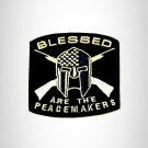 Blessed are the Peace Makers Small Patch Iron on for Biker Vest SB829