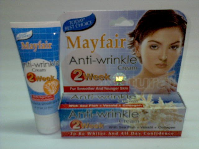 Mayfair Anti-wrinkle Cream ~*For Smoother And Younger Skin in 2 weeks*~ (2 tubes) FREE SHIPPING