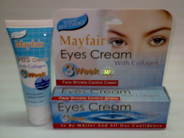 Mayfair Eyes Cream With Collagen ~*Face Wrinkle Control Cream in 3 weeks*~ (2 tubes) FREE SHIPPING
