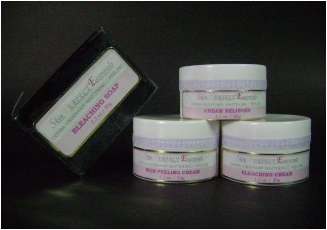 1 DERMA Underarm Whitening / Peeling Set for Sensitive Skin (price includes Shipping already)
