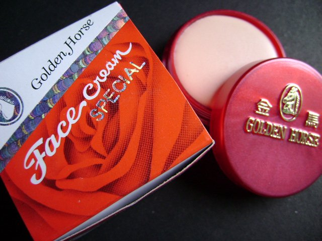 Lot of 2 pcs GOLDEN HORSE Face Cream SPECIAL 10g (FREE SHIPPING)