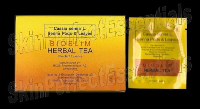 3 boxes Bio Slim Herbal Slimming Tea ~ 20 tea bags FREE SHIPPING