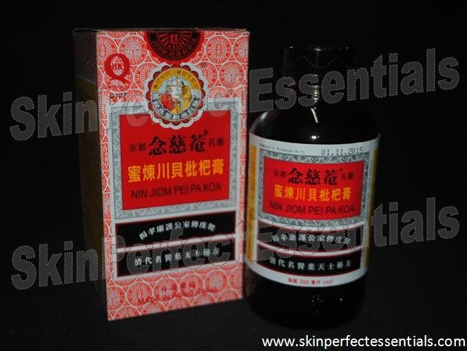 3 bottles Nin Jiom Pei Pa Koa Natural Herbs, Loquat & Honey Extracts x 150 ml FREE SHIPPING