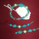 Multi turquoise jewelry set