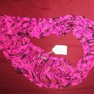 Multi pink dew drop infinity scarf