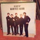 The Best Of Manfred Mann 1978 EMI C054-06428 UK Import British Invasion VG+/VG+