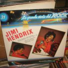 JIMI HENDRIX La Grande Storia del Rock 31 LP Italy Psych
