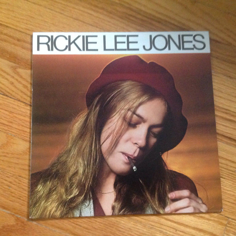 Rickie Lee Jones �� Rickie Lee Jones vinyl album LP USA