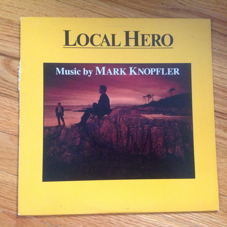 Mark Knopfler �� Local Hero vinyl album LP USA