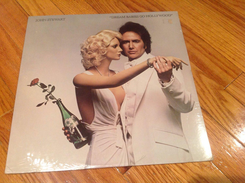 JOHN STEWART Dream Babies Go Hollywood STILL SEALED Original RSO Records Vinyl album