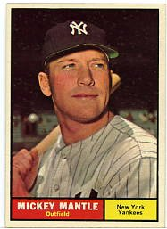 Mantle'61Topps #300