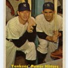 Yankees' Power Hitters 1957T  #407