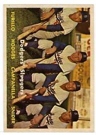 Dodgers' Sluggers 1957T #400