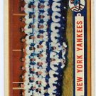 New York Yankees Team Card 1957T #97