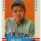 Babe Ruth1961 Fleer #75