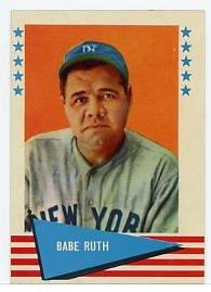 Babe Ruth1961 Fleer #75