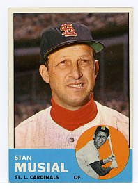 Stan Musial 1963 Topps #250