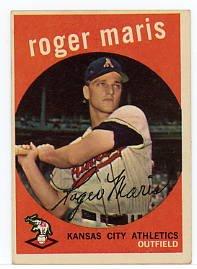 Roger Maris 1959 Topps #202
