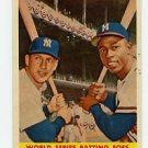 Mantle/Aaron 1958 Topps #418