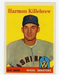 Harmon Killebrew 1958 Topps #288
