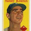 Sandy Koufax 1958 Topps #187