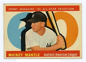 Mickey MantleAS 1960 Topps #563