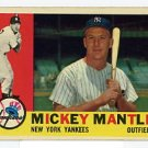 Mickey Mantle 1960 Topps #350