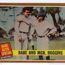Babe & Mgr. Huggins 1962 Topps #137