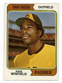 Dave Winfield RC 1974 Topps #456