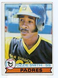 Ozzie Smith RC 1979 Topps #116