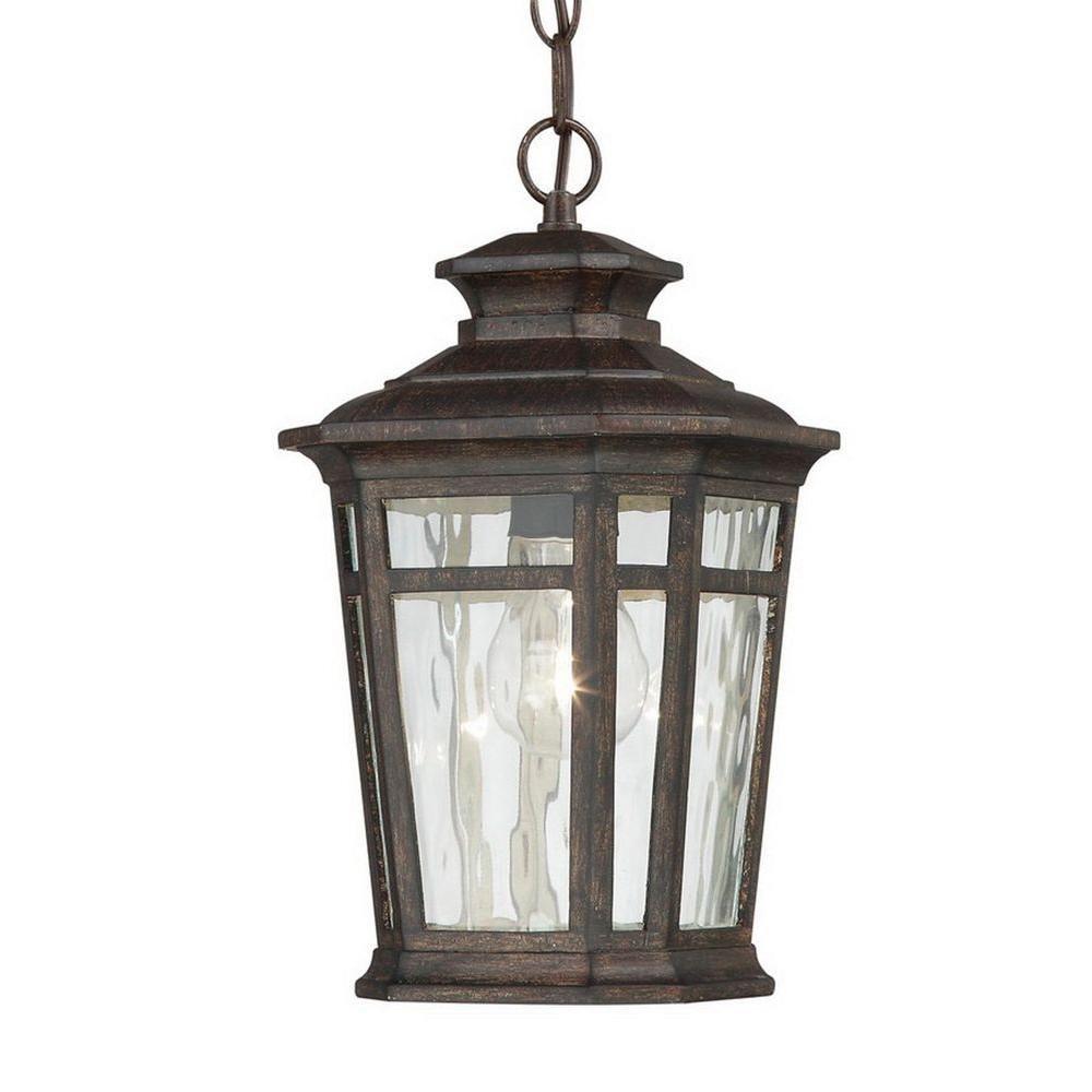 Landscape Lighting Gillette Nj: Home Decorators Collection Waterton 1-Light Dark Ridge