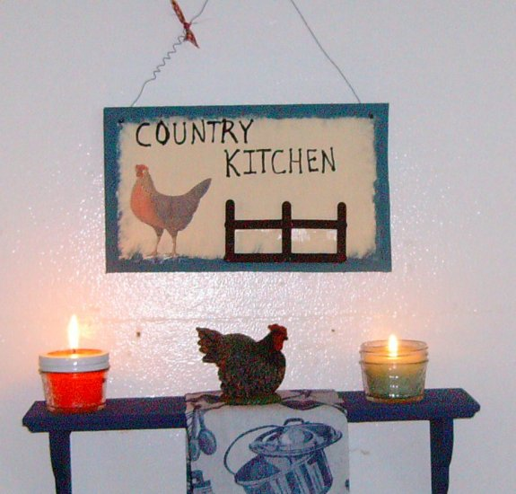 country kitchen grouping (8oz candles)