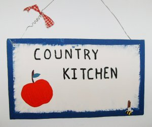 country kitchen apple